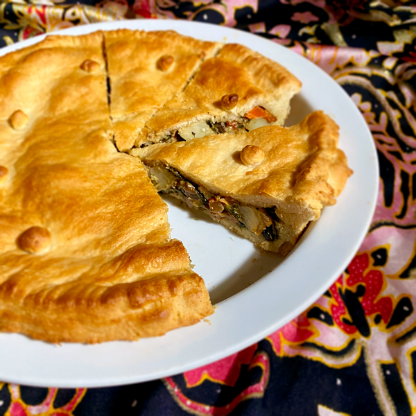 Patato-Spinach-Pie