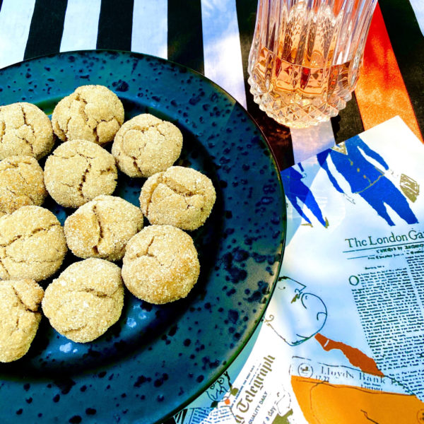CINNAMON WINE COOKIES