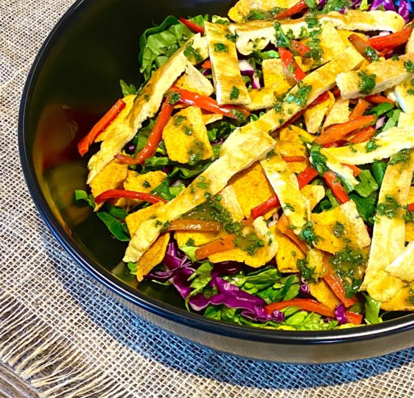 SPICY OMELET SALAD