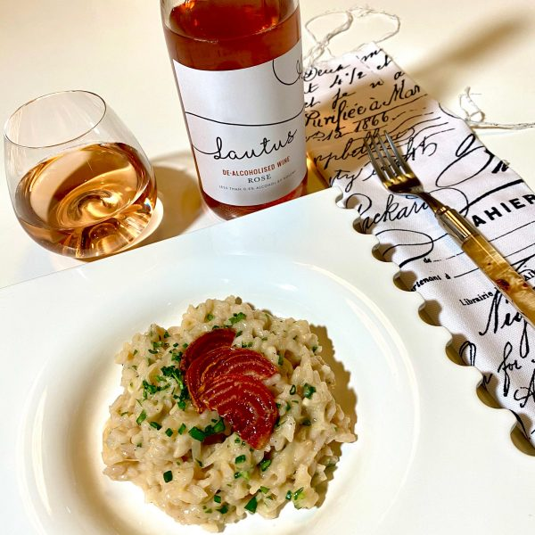 RED ONION + ROSÉ RISOTTO