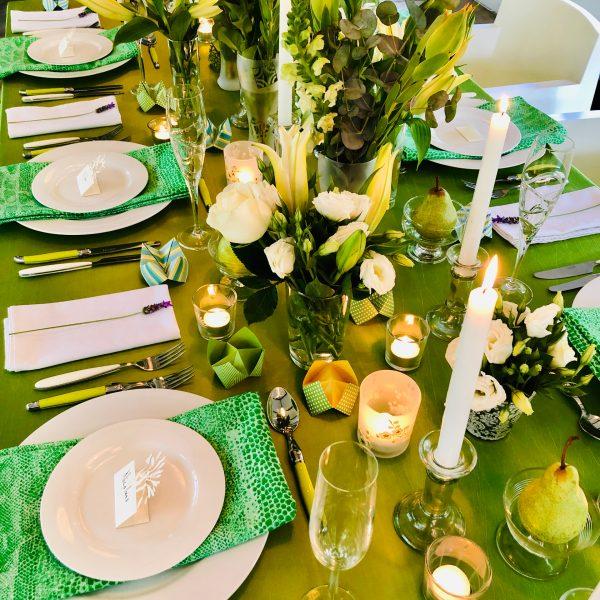 Table setting 3
